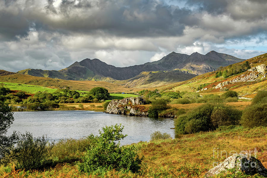 Autumn View Snowdonia National Park by Adrian Evans