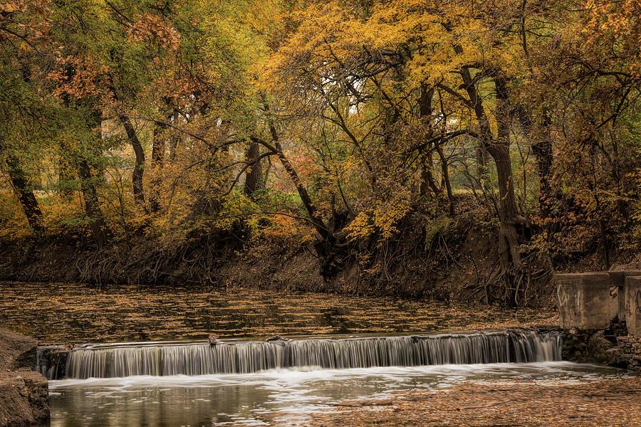 Autumn Waterfall by Scott Bean