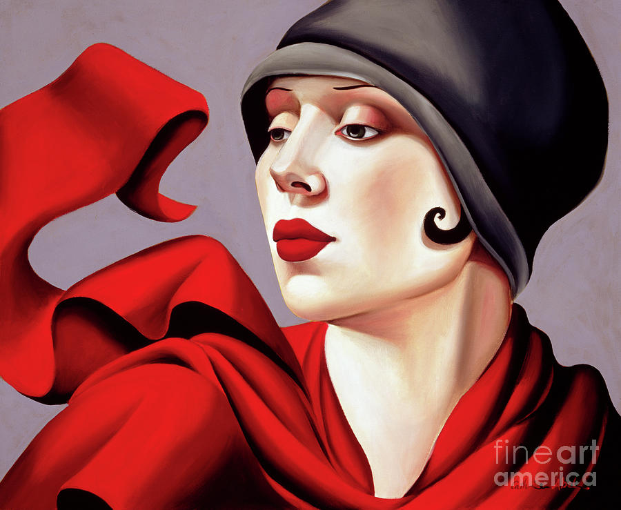 Thirties Painting - Autumn Zephyr by Catherine Abel