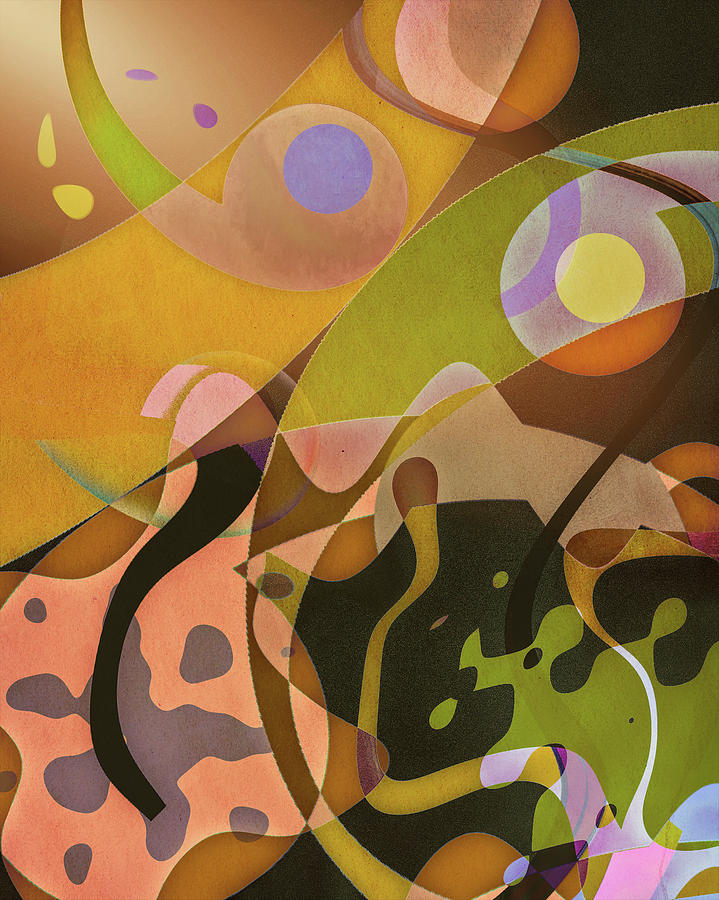 Digital Arts Digital Art - Autumnal Frolic by Jon Woodhams