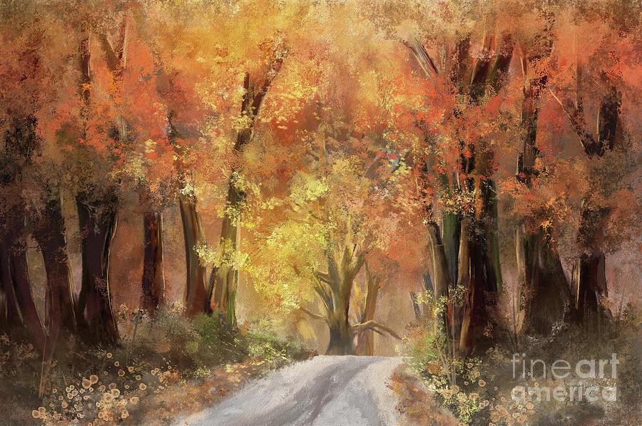 Autumn's glow by Lois Bryan