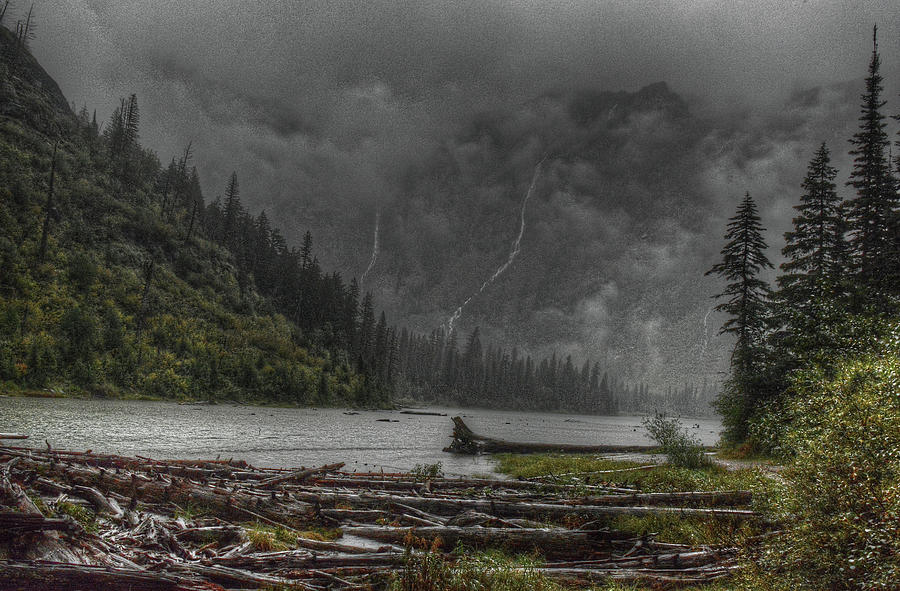 Avalanche Lake by Michael Kirk