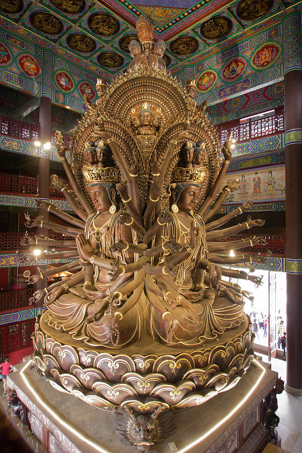 Avalokitesvara Guanyin Photograph by Pengpeng