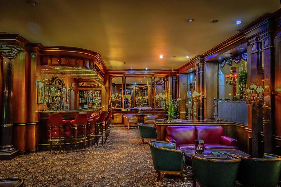 Avenida Palace Bar by Bill Howard