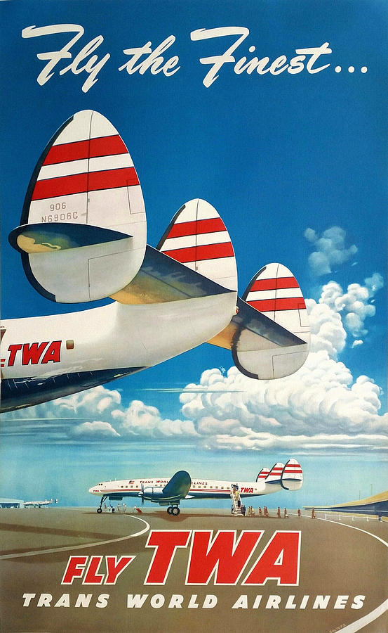 Aviation Art 17 by Andrew Fare