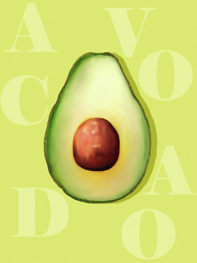 Avocado green by Joe Gilronan