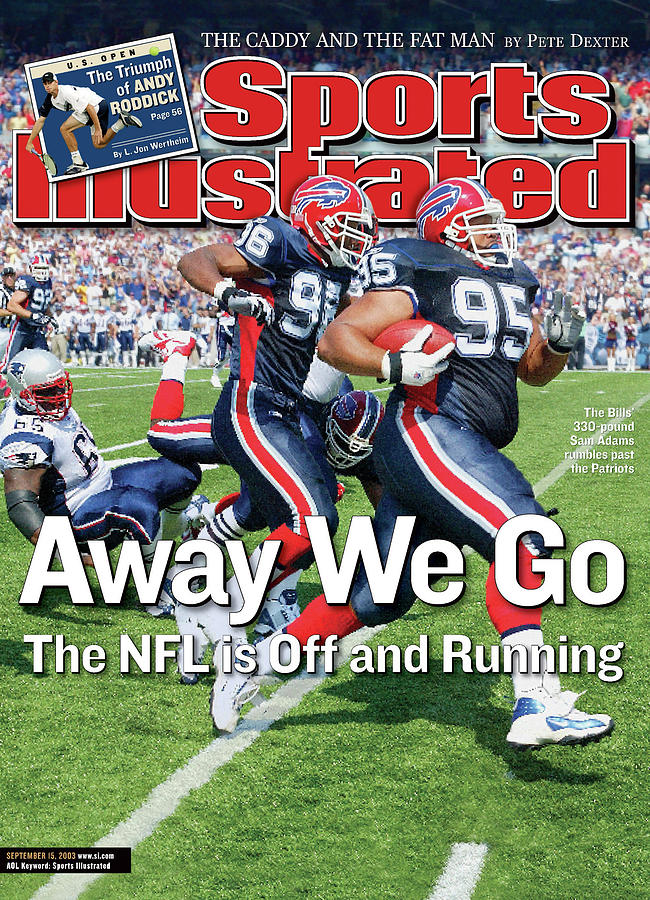 Away We Go The Nfl Is Off And Running Sports Illustrated Cover Photograph by Sports Illustrated