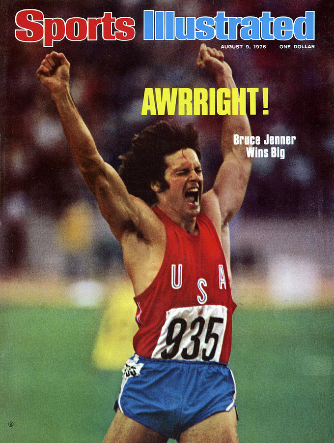 Awrright Bruce Jenner Wins Big Sports Illustrated Cover Photograph by Sports Illustrated