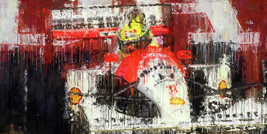 Ayrton Senna - 51 by Andrea Mazzocchetti