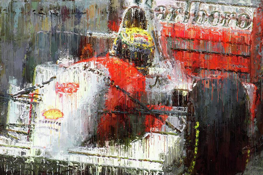 Ayrton Senna - 52  by Andrea Mazzocchetti