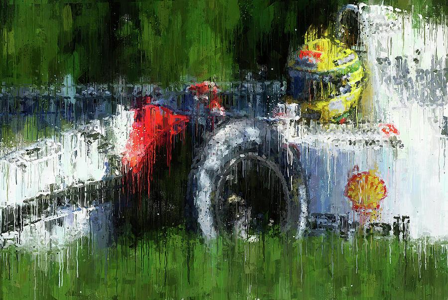 Ayrton Senna - 53 by Andrea Mazzocchetti