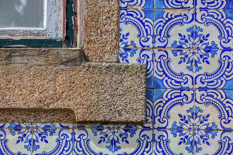 Azulejo Tile of Portugal by David Letts