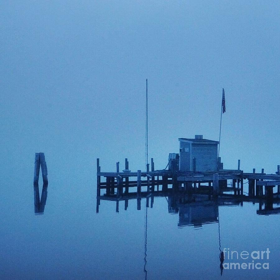 Azure Photograph - Azure Reflection by Christine Segalas