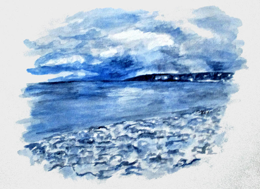 Azzurro Mergellina by Clyde J Kell