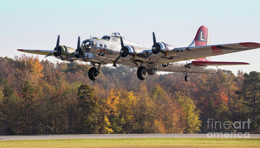 B-17 Flying Fortress by Kevin McCarthy