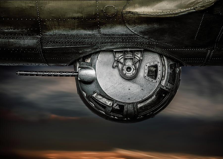 B-17 Gun Turret  No 2 by Bob Orsillo