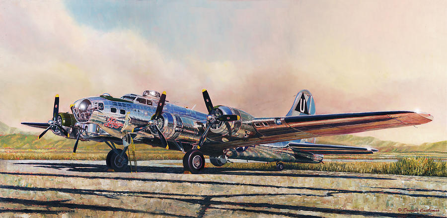 B-17G Sentimental Journey by Douglas Castleman