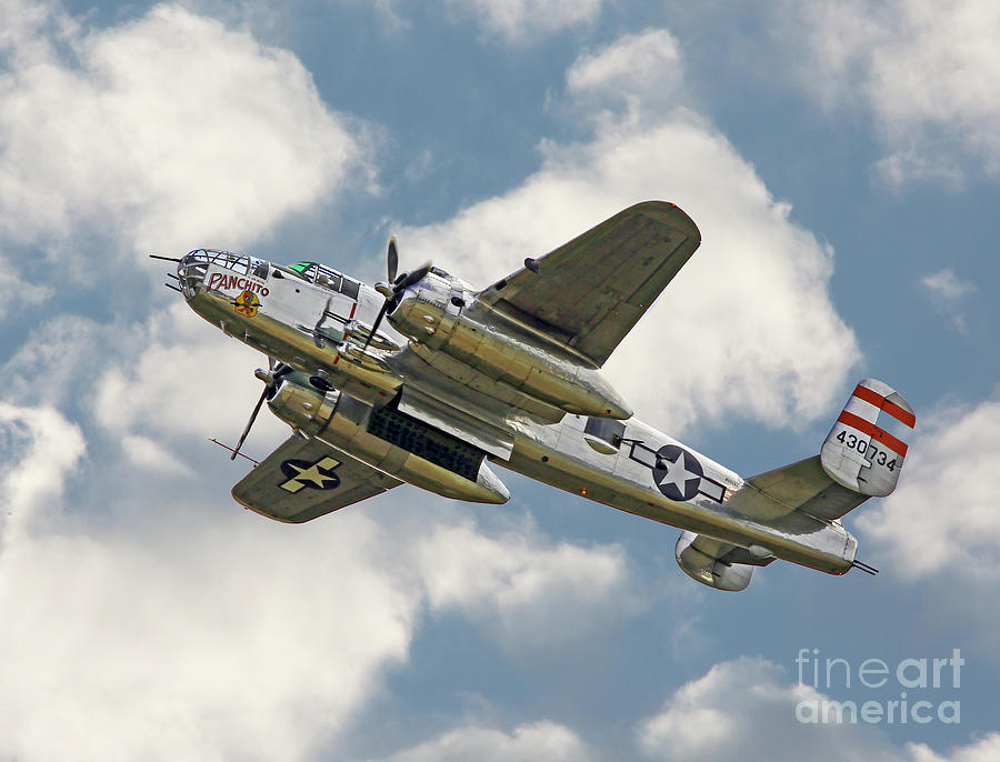 B-25 Mitchell Bomber by Kevin McCarthy