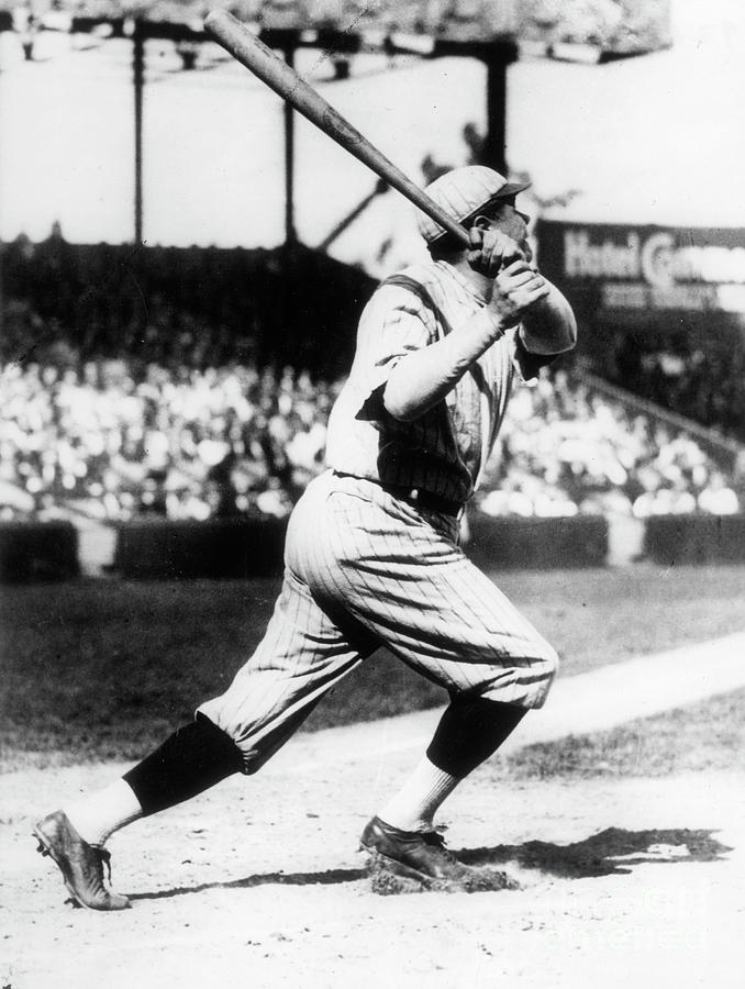 Babe Ruth 1921 Photograph by Transcendental Graphics