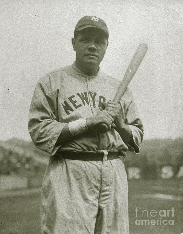 Babe Ruth Aetherial Photograph by Transcendental Graphics