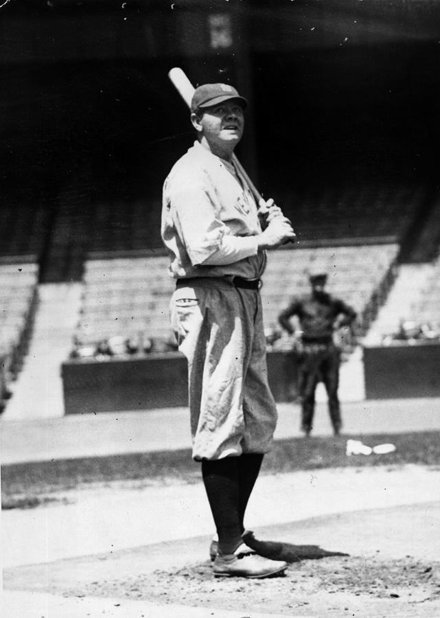 Babe Ruth Photograph by General Photographic Agency