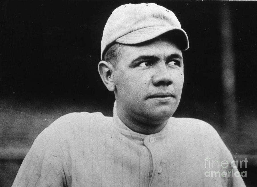 Babe Ruth Portrait Boston 1916 Photograph by Transcendental Graphics