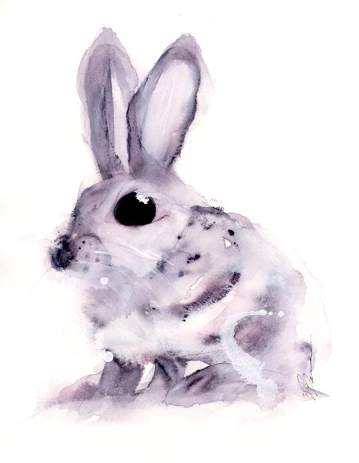 Baby Bunny by Dawn Derman