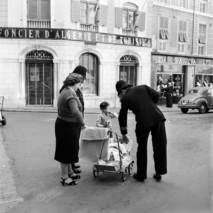 Baby Duty Photograph by Bert Hardy
