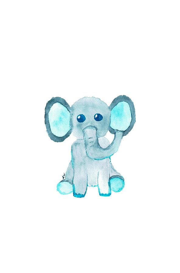 Baby Elephant by Sarah Warman