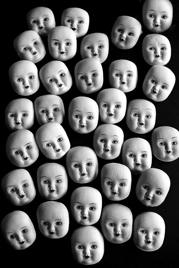 Baby Face Photograph - Baby Face by Andrea Kollo