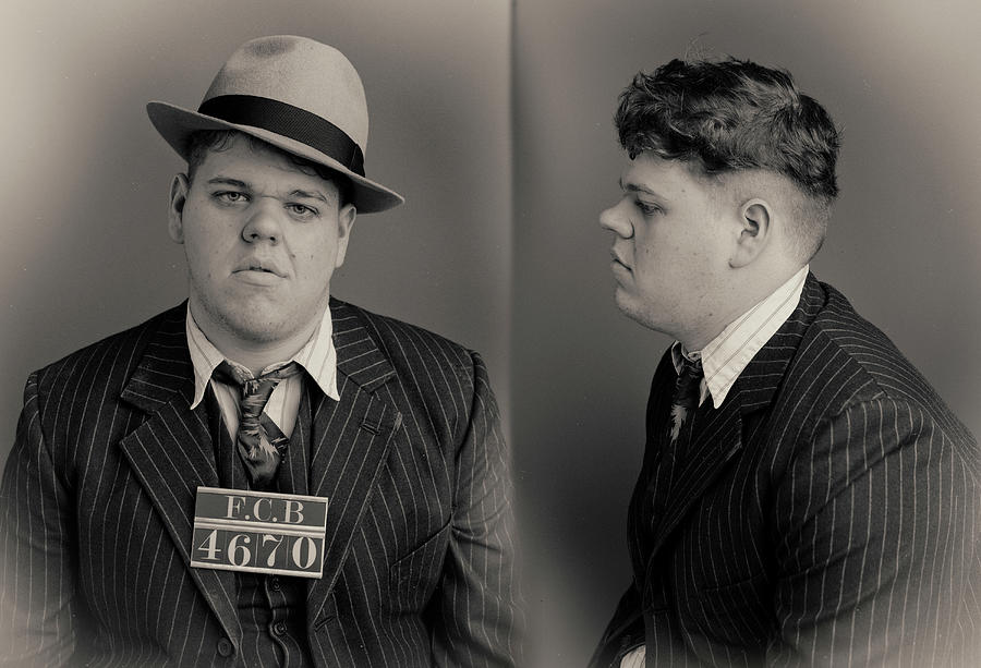 Baby Face Wanted Mugshot Photograph by Nick Dolding