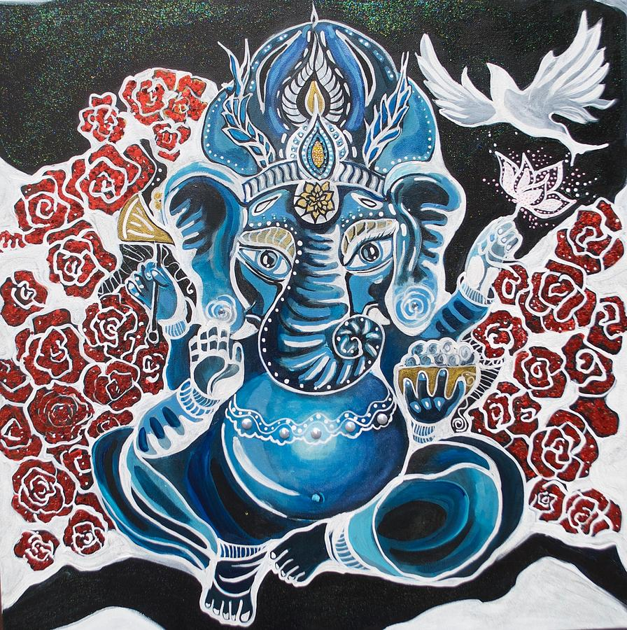 Baby Ganesha by Patricia Arroyo