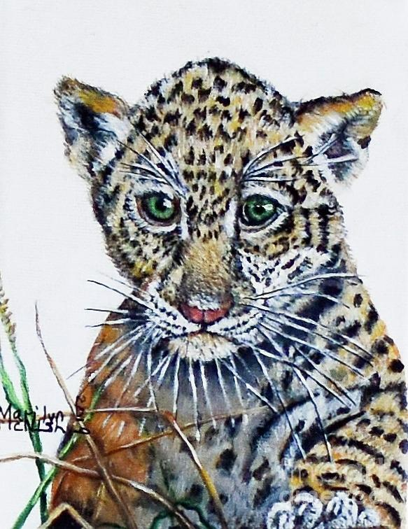 Baby Jaguar by Marilyn McNish