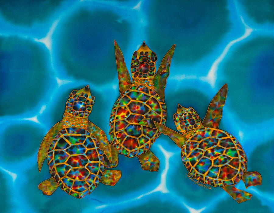 Baby turtles by Daniel Jean-Baptiste