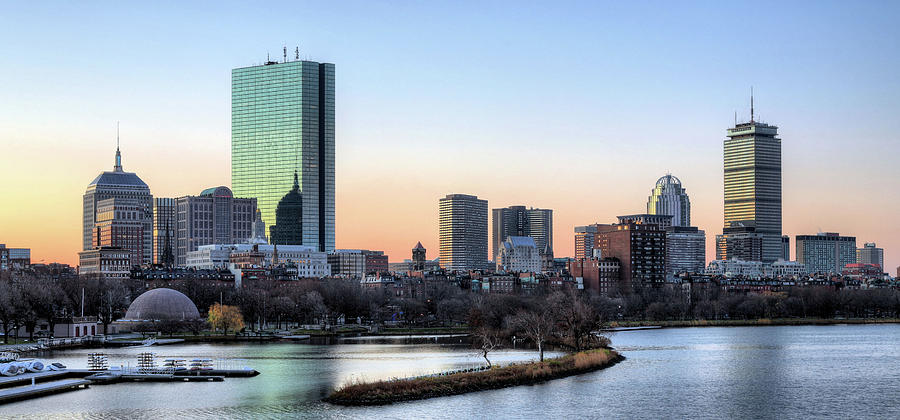 Boston Photograph - Back Bay Sunrise by JC Findley