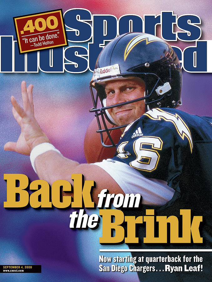 Back From The Brink Now Starting At Quarterback For The San Sports Illustrated Cover Photograph by Sports Illustrated