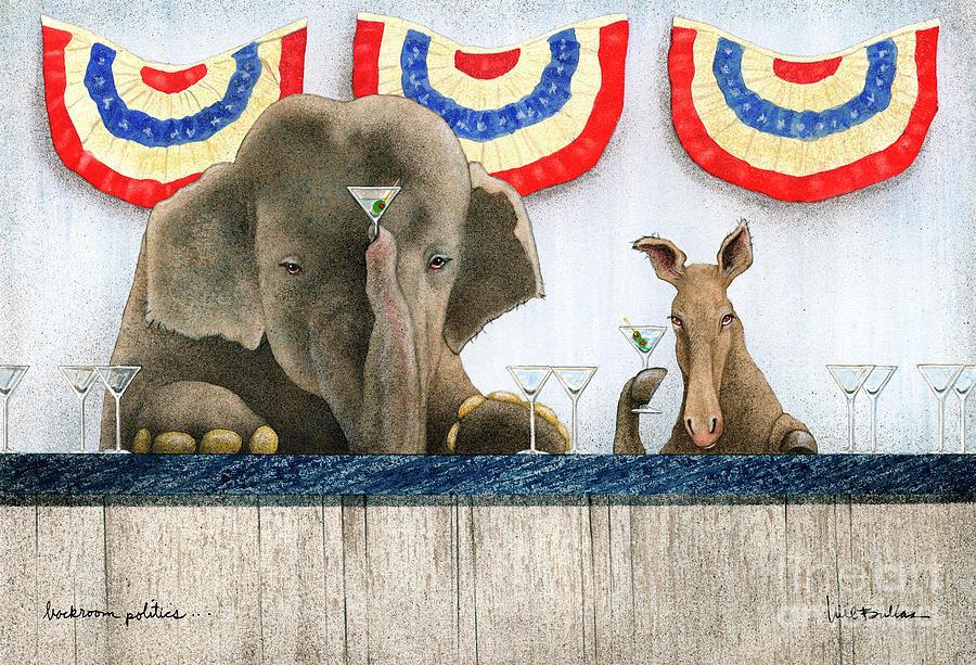 back-room politics... by Will Bullas
