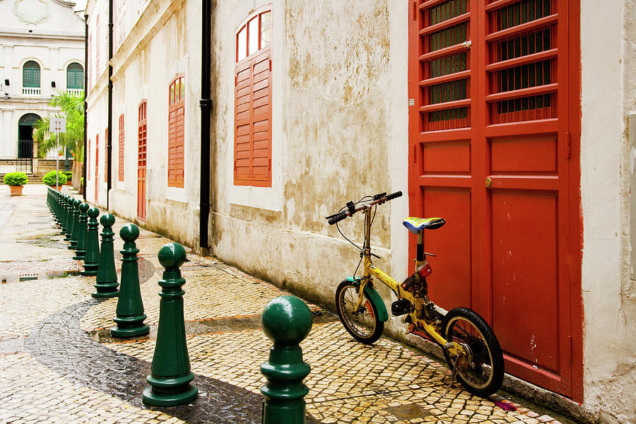 Back Streets Of Macao Photograph by Jhorrocks