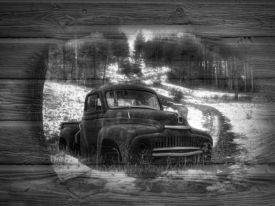 1939 Photograph - Backroads Black And White by Debra and Dave Vanderlaan