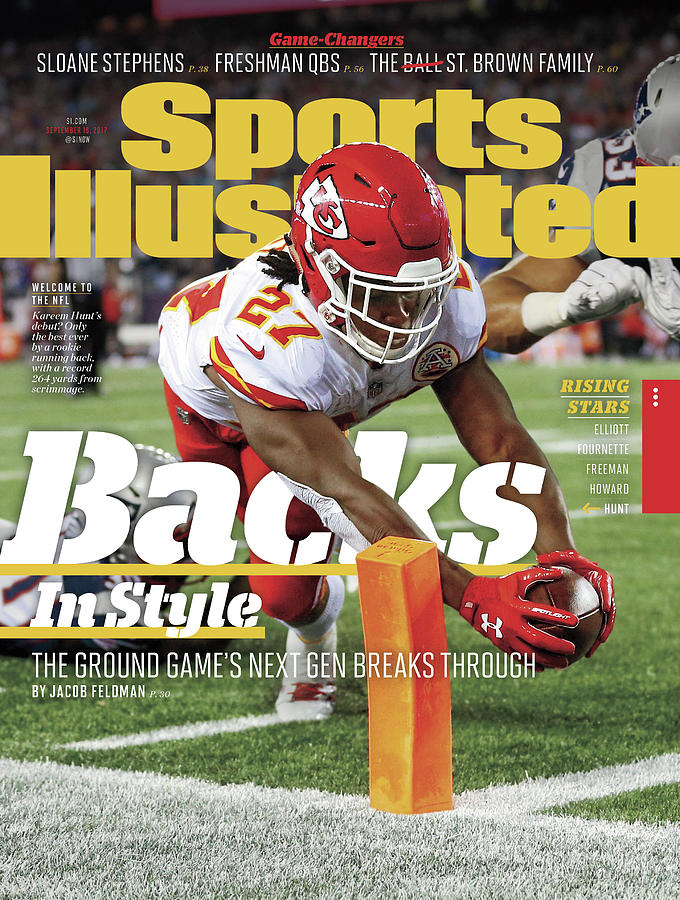 Backs In Style The Ground Games Next Gen Breaks Through Sports Illustrated Cover Photograph by Sports Illustrated