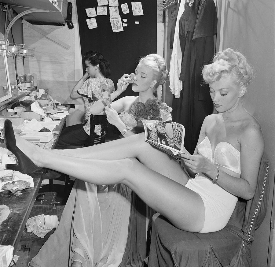Backstage At La Scala Photograph by Slim Aarons