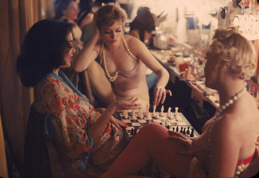 Backstage At The Latin Quarter Photograph by Gordon Parks