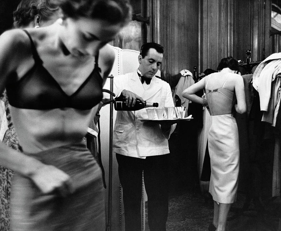 Backstage Photograph by Kurt Hutton