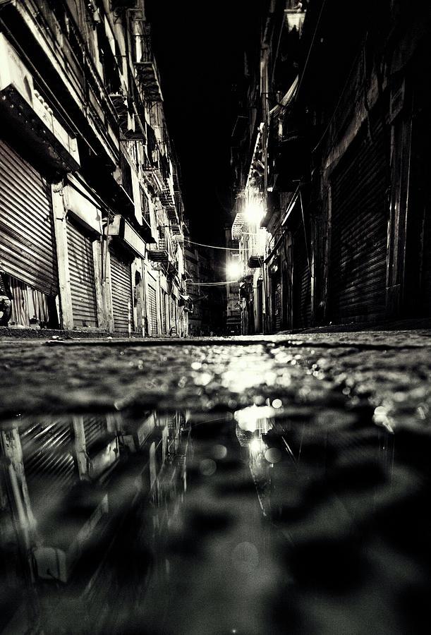 Backstreet Reflection Photograph by Peeterv