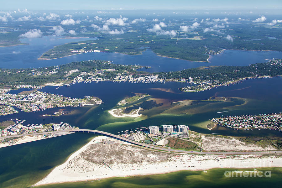 Backwaters 5122-A by Gulf Coast Aerials -