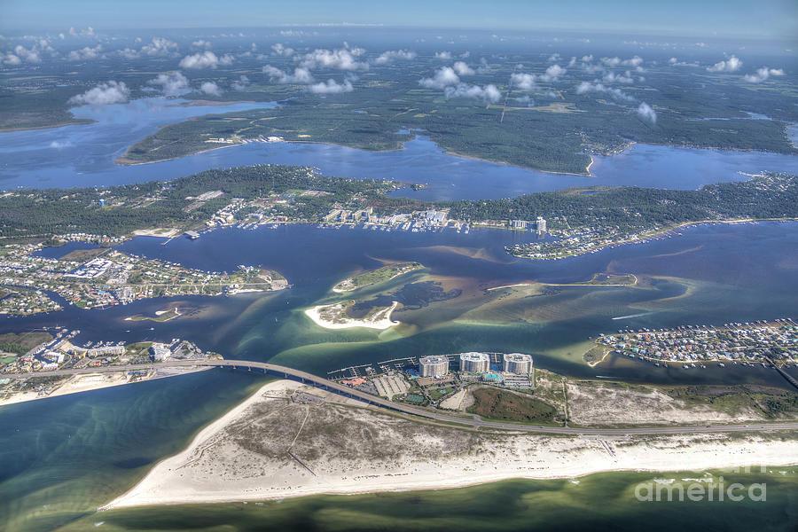 Backwaters 5122 by Gulf Coast Aerials -