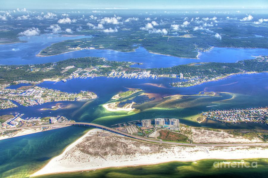 Backwaters 5122 tonemapped by Gulf Coast Aerials -