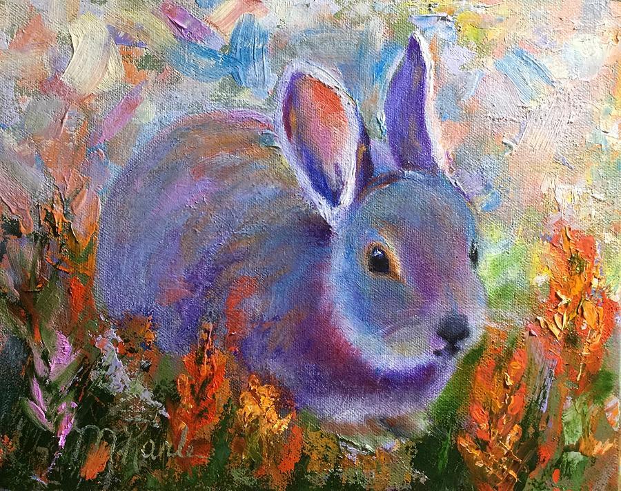 Backyard Bunny by Marsha Karle