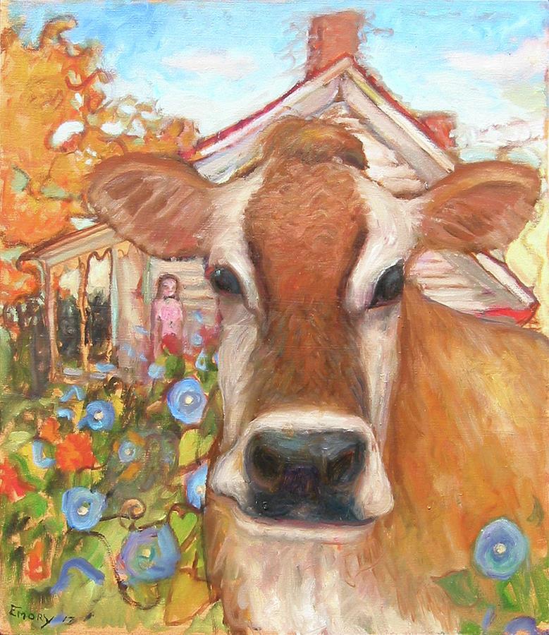 Backyard Cow by Paul Emory