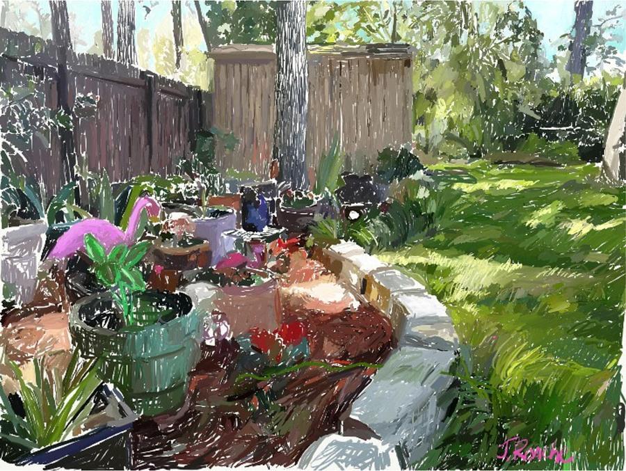 Backyard Garden by Joe Roache